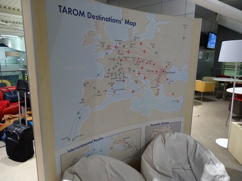 Harta Rute Tarom