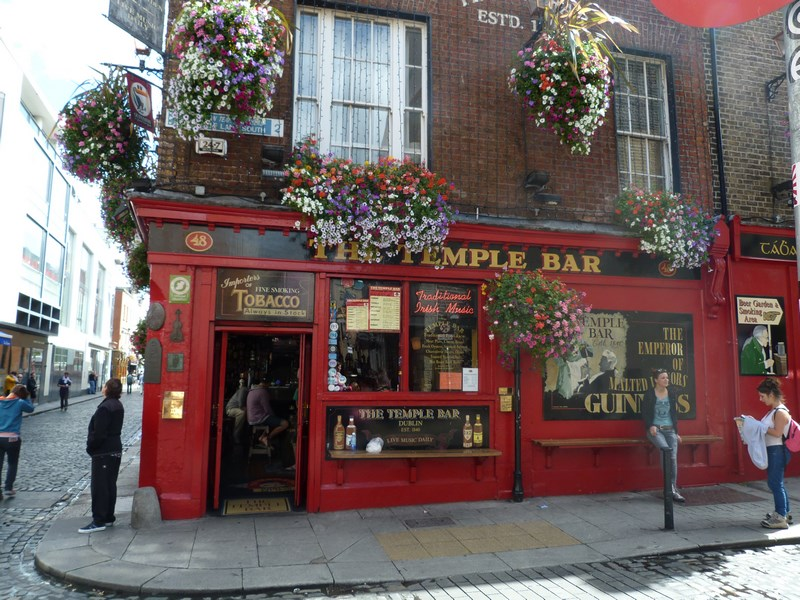 Temple Bar Dublun