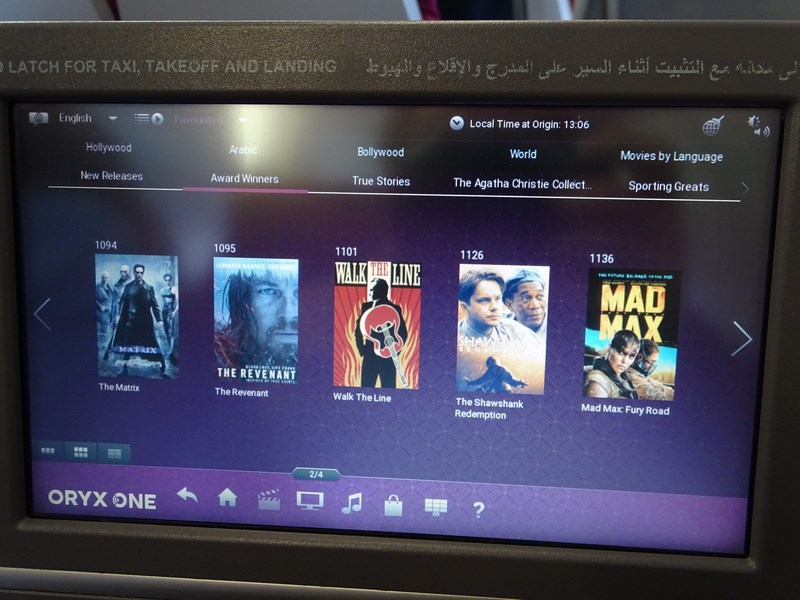 Filme Qatar Airways