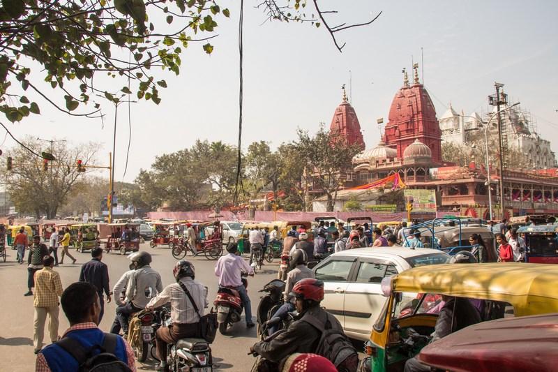 . Trafic In Jaipur