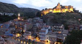 Evening In Tbilisi