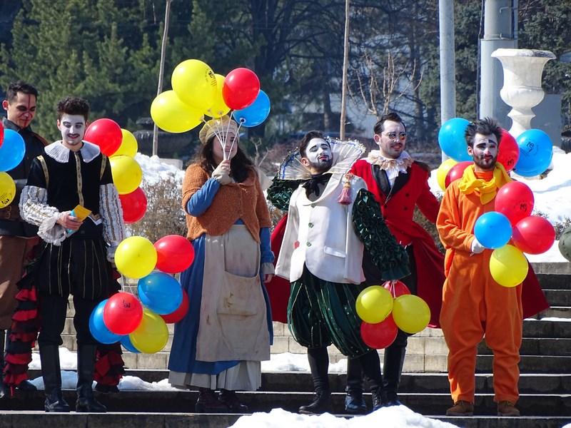 Actori Teatrul Eugene Ionesco Chisinau