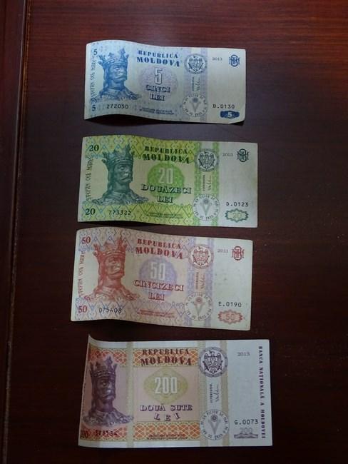 Bancnote Lei Moldovenesti