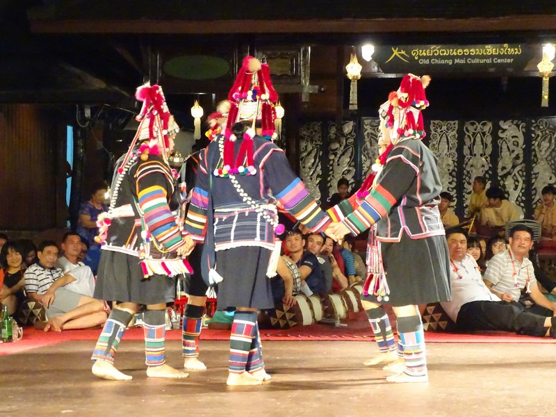 Hill Tribes Dancers