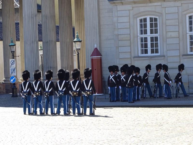 Ceremonial Garda Copenahaga