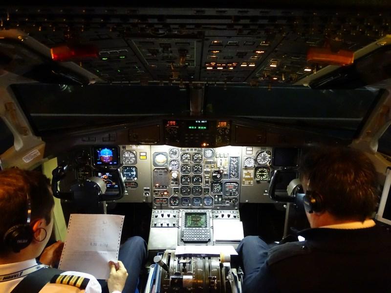 Cockpit ATR Tarom