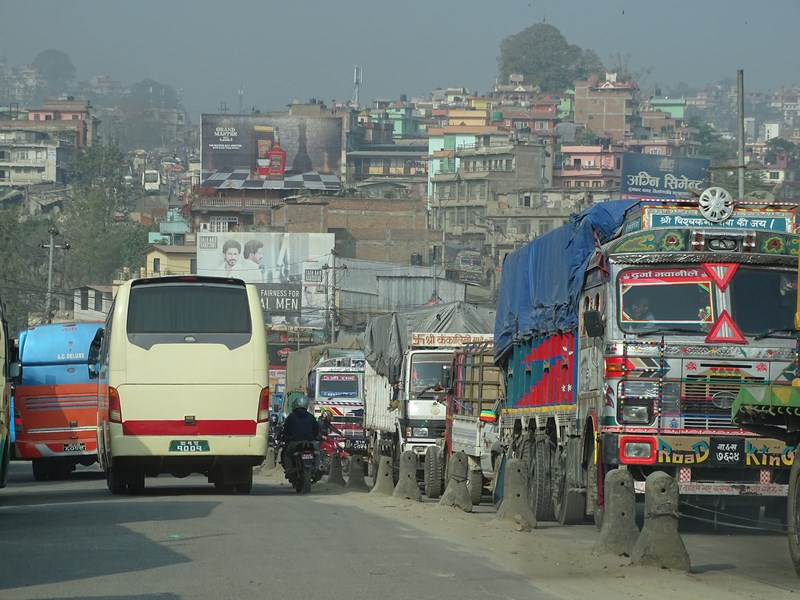 Katmandu Traffic Jam