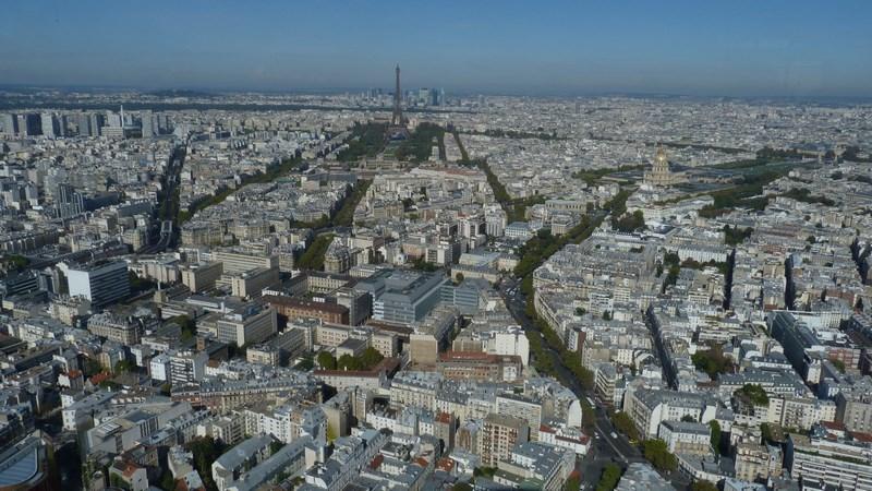 Panorama Din Turnul Montparnasse