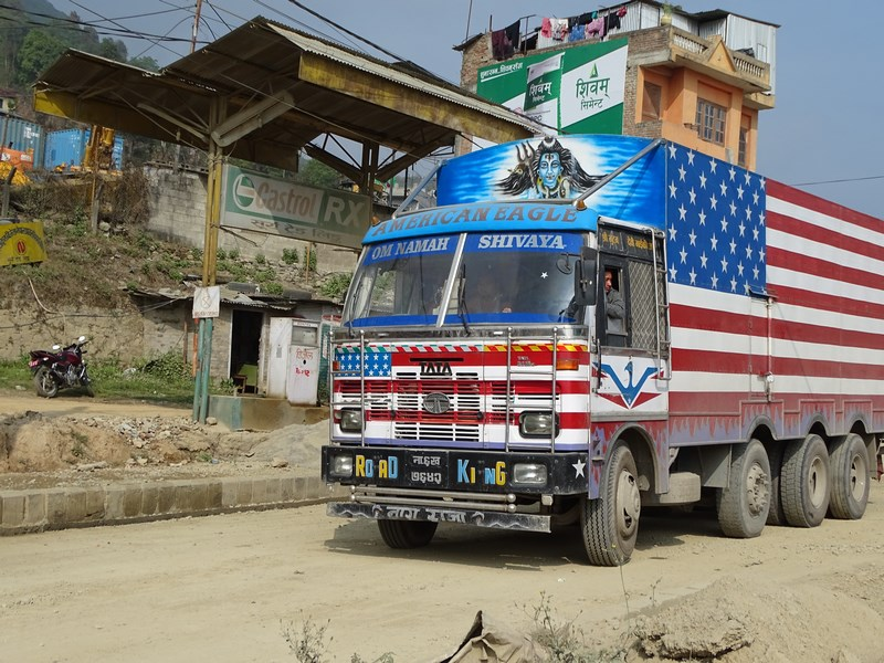 Camion Nepal