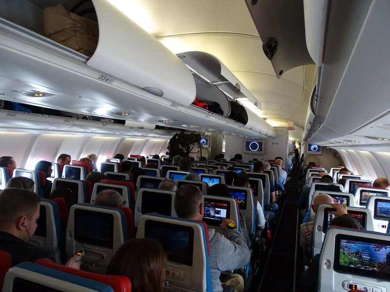 . Interior Turkish Airlines A