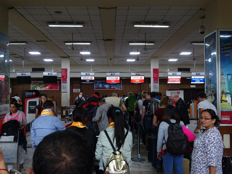 Check In Kathmandu