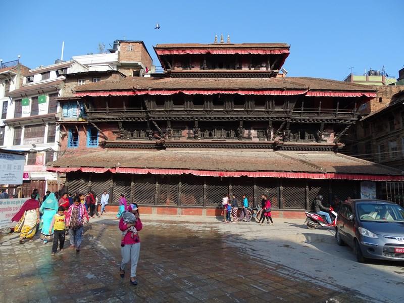 Cladire Stil Nepalez