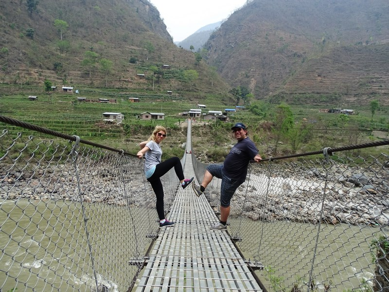 Hanging Bridge Nepal