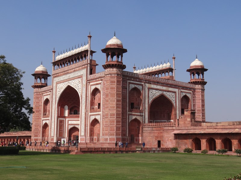 Poarta Taj Mahal