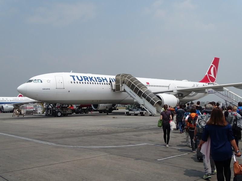 Turkish Airlines Kathmandu