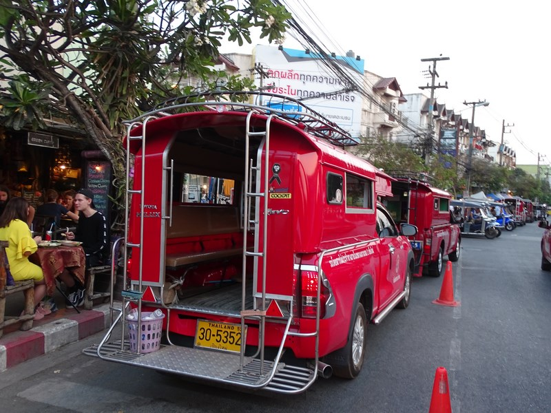 . Songtaew Chiang Mai