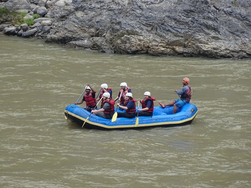 Rafting Trisuli