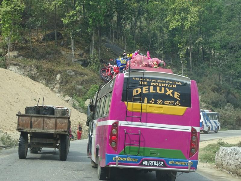 Tourist Bus Nepal