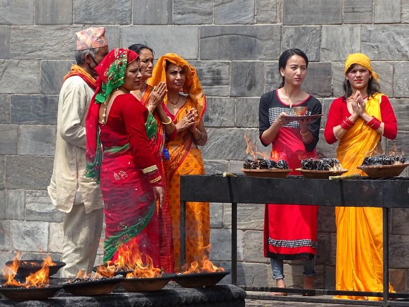 Ceremonie Hindusa Kathmandu