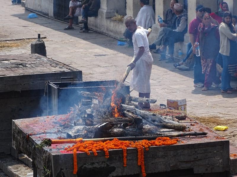 Incinerare Kahtmandu