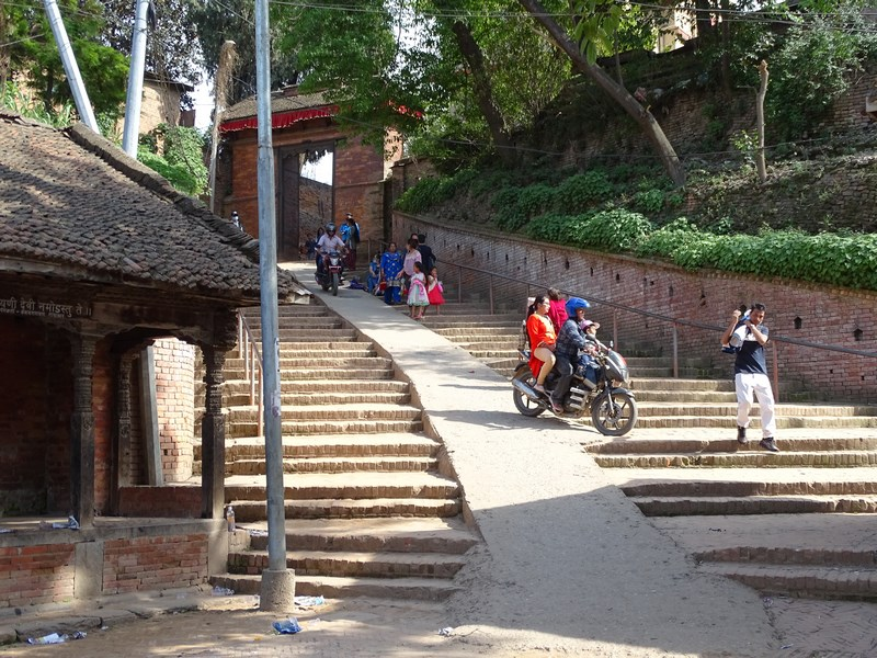 Intrare In Bhaktapur