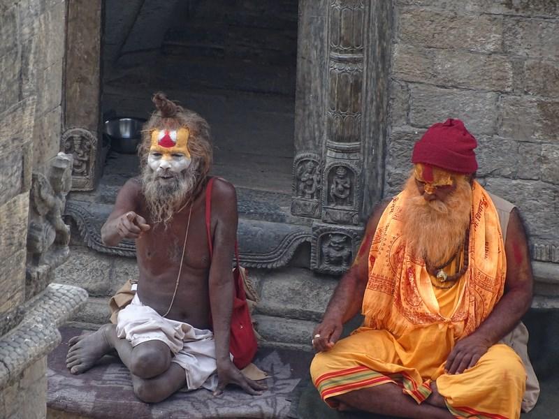 Fake Sadhu Kathmandu