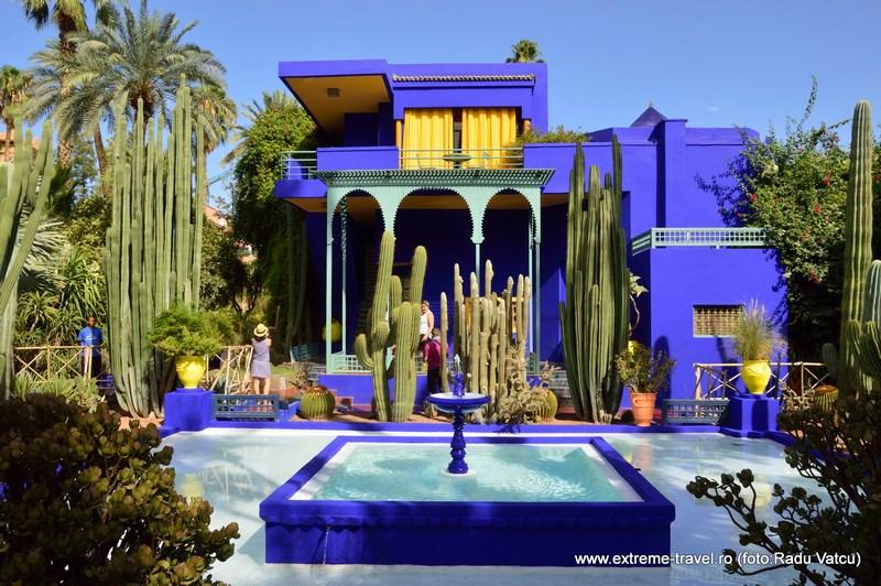 Gradina Majorelle Marrakech
