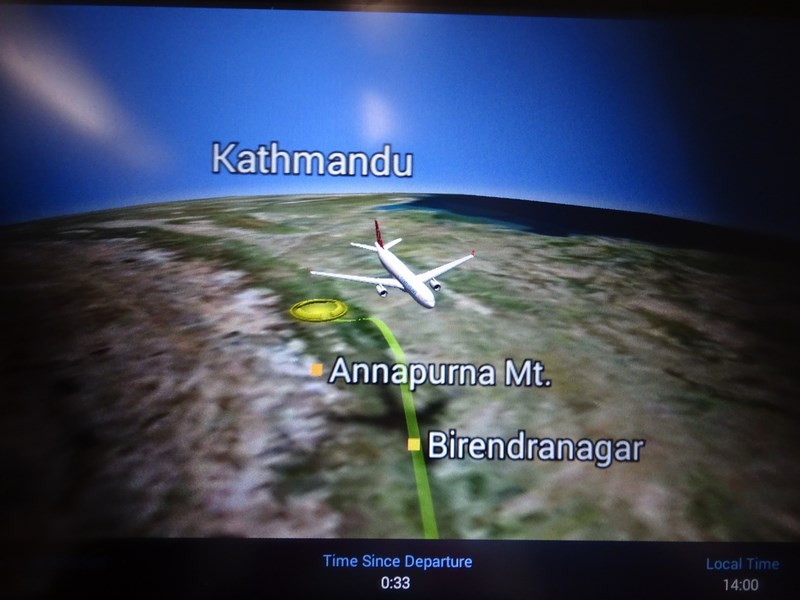 Traseu TK Kathmandu Istanbul