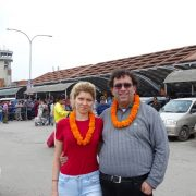 In Fata Aeroportului Kathmandu