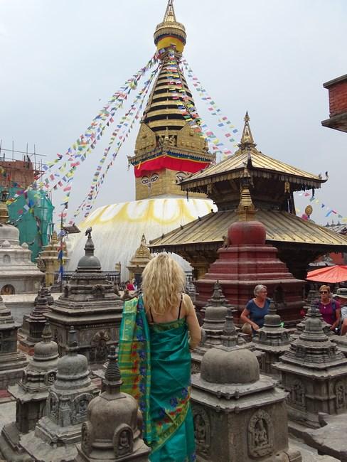 Swayambunath Stupa Kathmandu