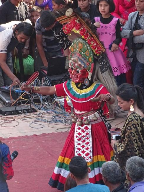 Dans Traditional Nepalez