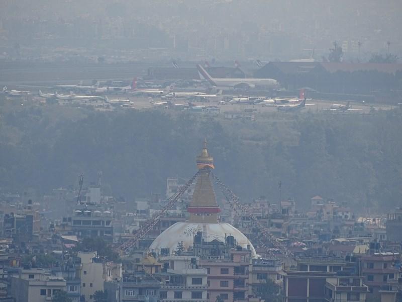 Boudhanath Kathmandu Airport