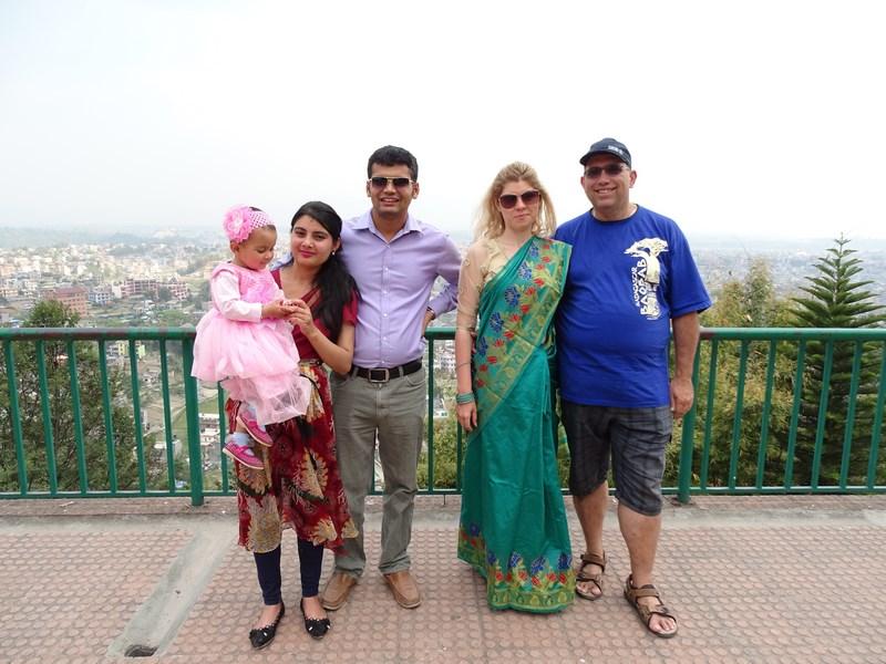 Raj Ghimire Family
