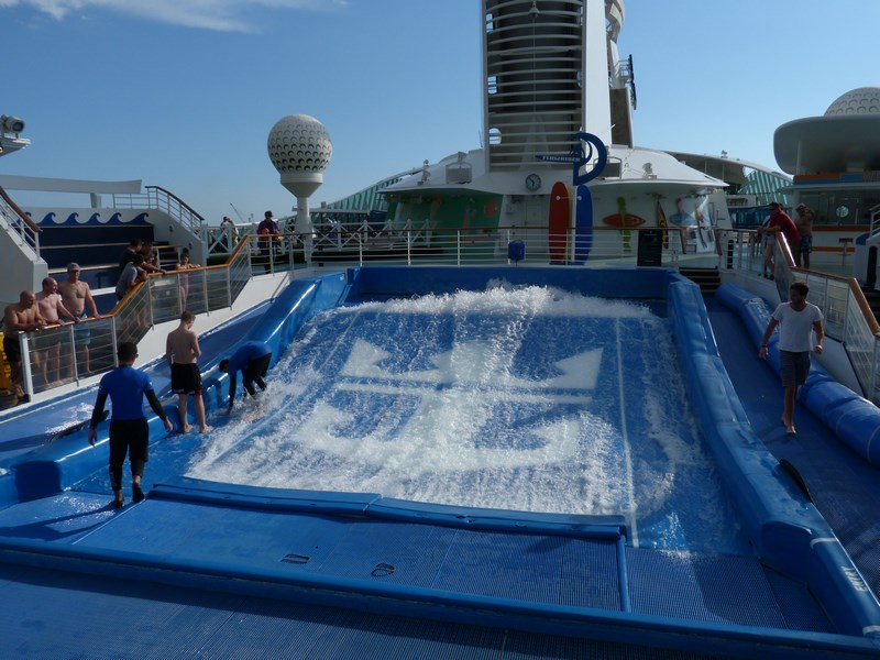 Surfing Liberty Of The Seas