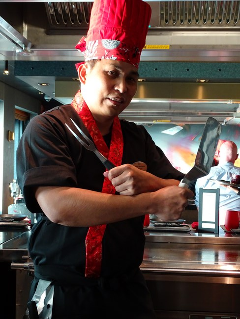 Teppanyaki Norwegian Bliss