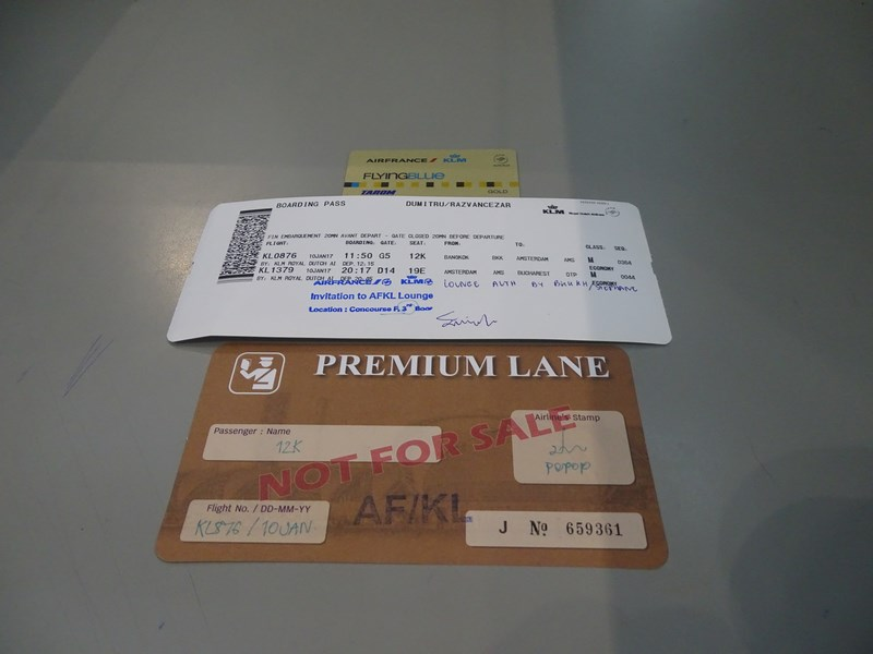 Priority Lane Bangkok Airport