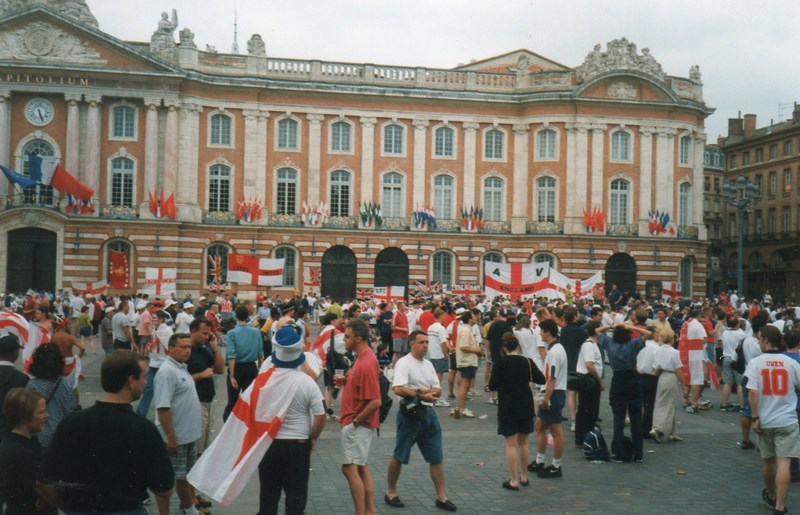 . Suporteri Englezi La Toulouse