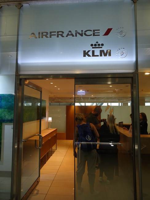 Business Lounge Air France KLM