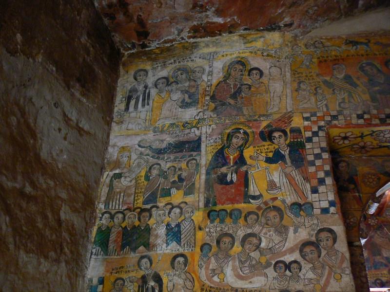 Picturi Murale Etiopiene