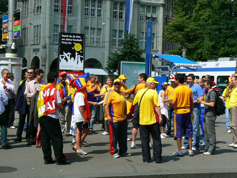 Suporteri Romani Euro