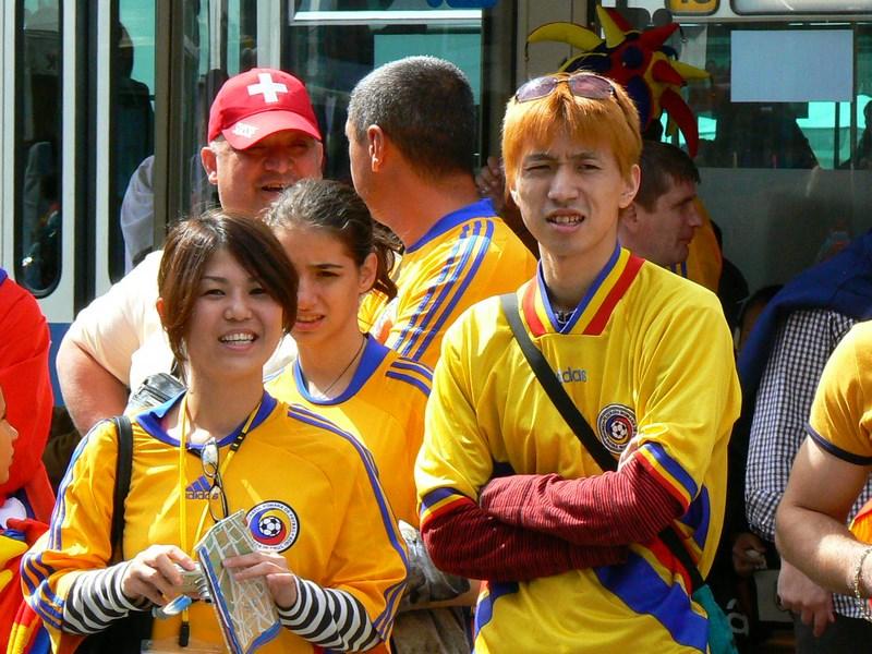 Suporteri Japonezi Pentru Romania