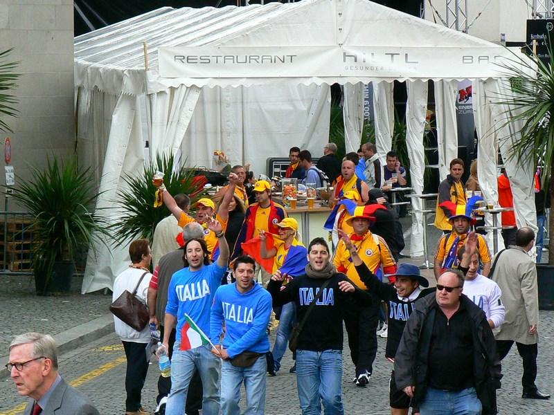 Suporteri Romani Si Italieni