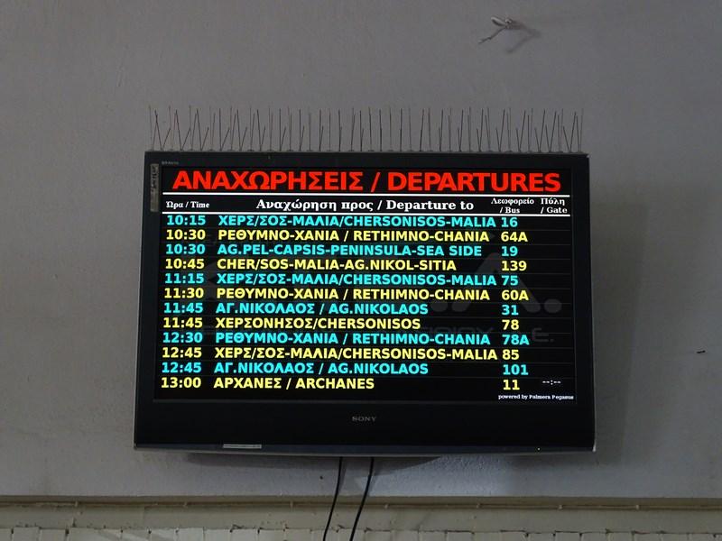 Orar Autobuze Creta