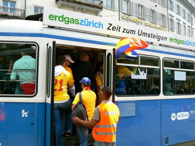Tramvai Zurich