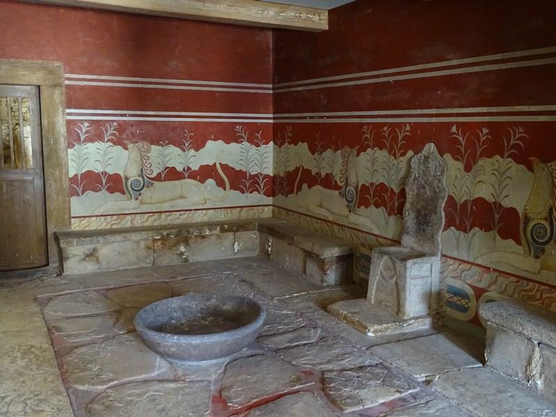 Sala Tronului Knossos