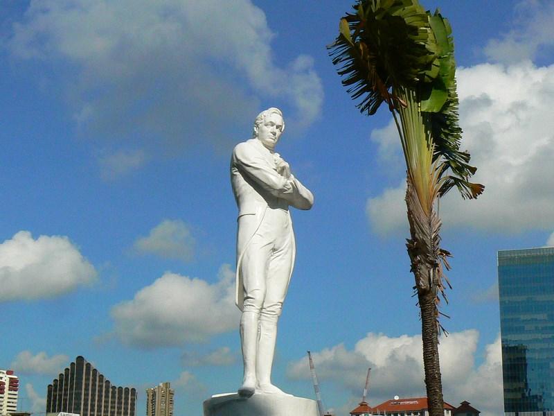 Statuie Raffles