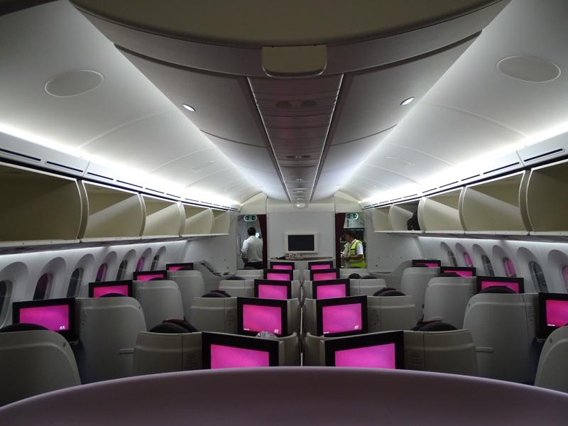 . Qatar Airways Dreamliner