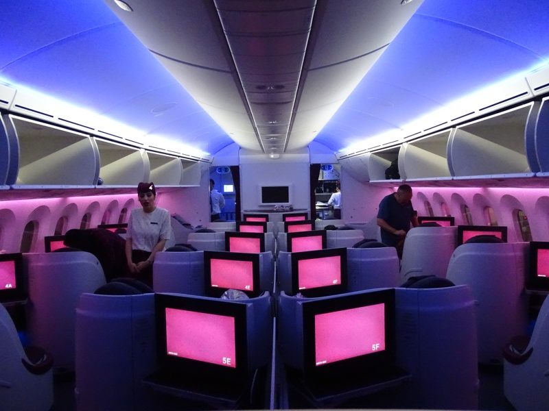 . Qatar Airways Business Class