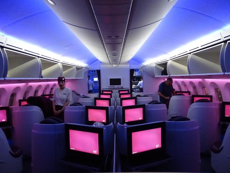 . Qatar Airways Business Class