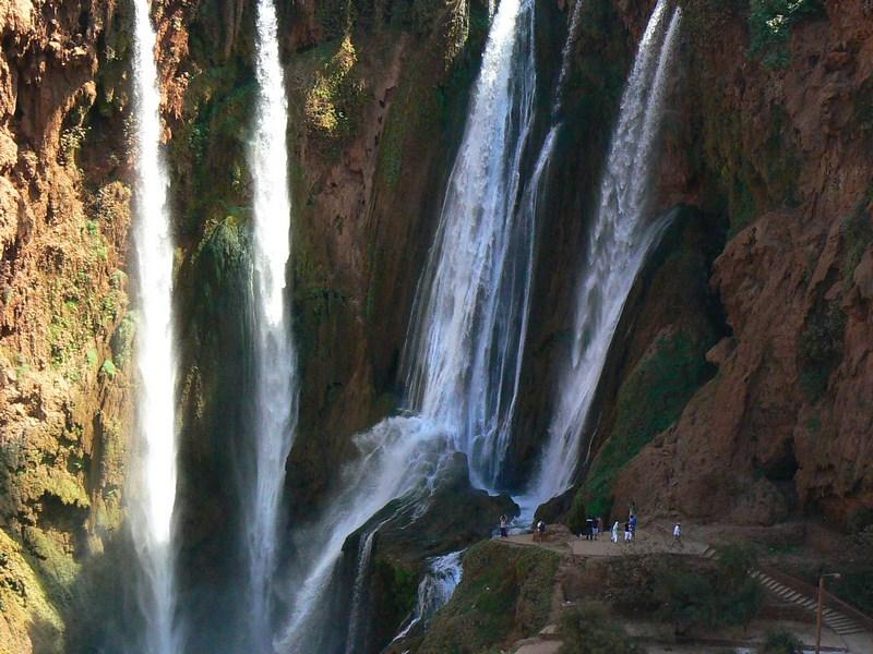 Cascada Ouzoud Marrakech